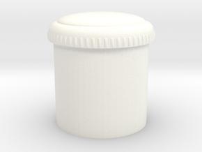 Wessex Fuel Cap in White Processed Versatile Plastic