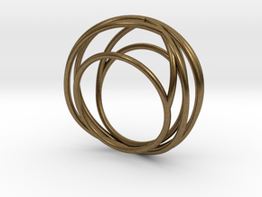 Nouv I (Medium) in Natural Bronze