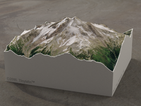 Glacier Peak, Washington, USA, 1:50000 Explorer in Full Color Sandstone