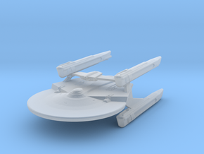 Miranda Class (4 nacelles) Attack Wing in Frosted Ultra Detail