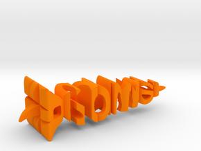 Wortel Power in Orange Processed Versatile Plastic