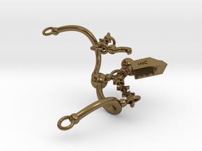 NUIT COLLAR in Interlocking Polished Bronze