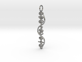 """""""IDIC"""" Stardust Pendant in Natural Silver"""