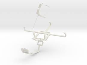 Controller mount for Xbox One & Allview E3 Living in White Natural Versatile Plastic