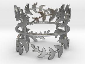 Laurel Leaves (Size 5-11.75) in Natural Silver: 5 / 49