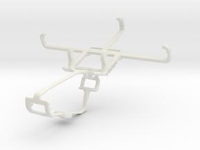 Controller mount for Xbox One & BLU Advance 4.0 L in White Natural Versatile Plastic
