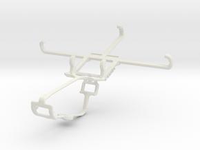 Controller mount for Xbox One & BLU Dash X in White Natural Versatile Plastic