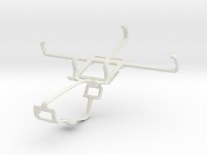Controller mount for Xbox One & BLU Diamond M in White Natural Versatile Plastic