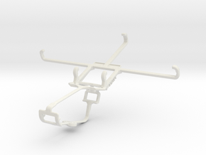 Controller mount for Xbox One & BLU Pure XL in White Natural Versatile Plastic