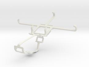 Controller mount for Xbox One & BLU Studio M LTE in White Natural Versatile Plastic