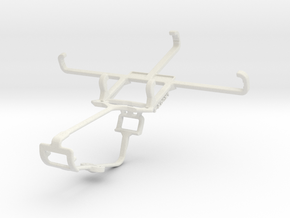Controller mount for Xbox One & BLU Win JR LTE in White Natural Versatile Plastic