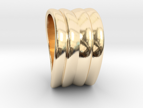 Wave in 14K Yellow Gold