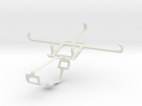 Controller mount for Xbox One & Lava X50 in White Natural Versatile Plastic