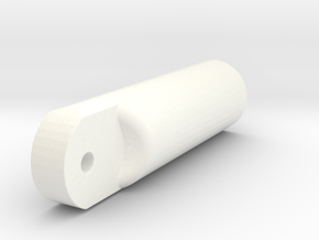Wessex Tail Wheel Cylinder in White Processed Versatile Plastic