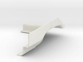 PASSENGER REAR FOR 3D PRINT v2 in White Strong & Flexible