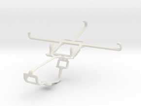 Controller mount for Xbox One & Samsung Galaxy E7 in White Natural Versatile Plastic