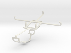 Controller mount for Xbox One & Sony Xperia Z5 Pre in White Natural Versatile Plastic