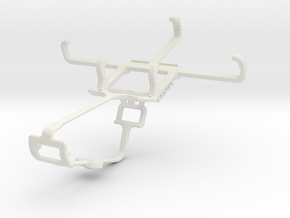 Controller mount for Xbox One & Unnecto Drone XL in White Natural Versatile Plastic