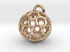 Pendant1 in 14k Rose Gold Plated