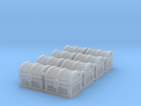 Wiz-War Chest tokens in Smooth Fine Detail Plastic: Medium