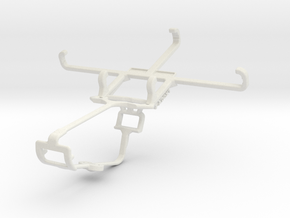 Controller mount for Xbox One & Sony Xperia Z3 Com in White Natural Versatile Plastic