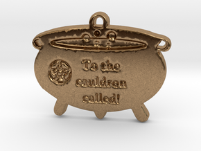 Cauldron Called by ~M. in Natural Brass