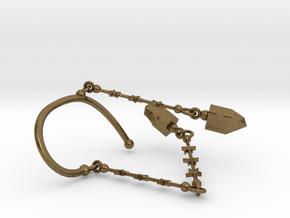 BINAH EARCUFF in Natural Bronze (Interlocking Parts)