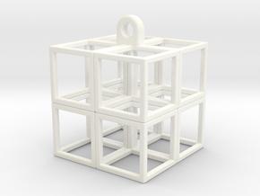CubeCube in White Processed Versatile Plastic