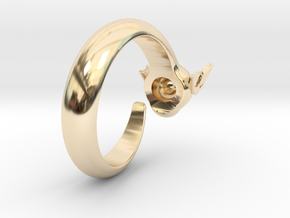 Dragon Ring in 14K Gold: 6 / 51.5