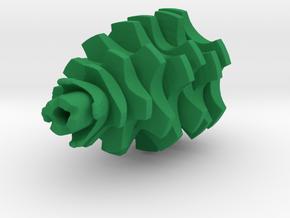 Pinecone tree in Green Processed Versatile Plastic