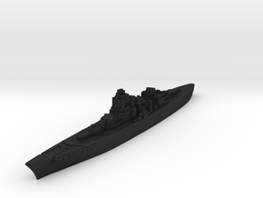 O-class German Battlecruiser (GW36 Scale) in Black Acrylic