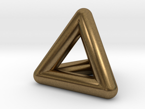 0278 Tetrahedron V&E (full color) in Natural Bronze