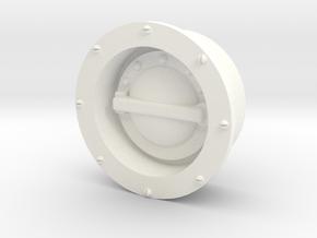 PN Wessex Fuel Filler in White Processed Versatile Plastic
