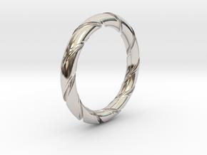 Bernd - Ring in Platinum: 7.25 / 54.625