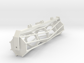 Tractor part 1 1:32 in White Natural Versatile Plastic