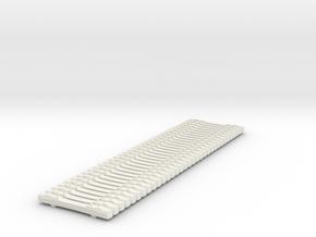 H0 Betonschwellen (Concrete Ties Load) B70 in White Strong & Flexible