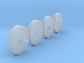 1/35 T-35A Idler Wheel (hobby boss) in Smooth Fine Detail Plastic
