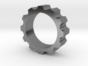 Bolt ring in Polished Silver: 8 / 56.75
