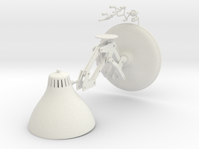 Pixar Lamp Antoons in White Strong & Flexible: Medium