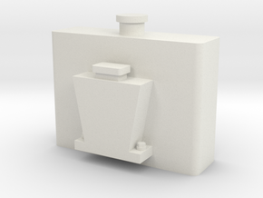 Bachmann Shay Oil Tank in White Natural Versatile Plastic