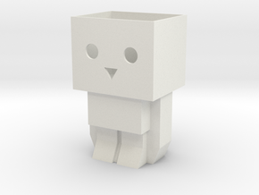 Tofubot pen stand / mini planter in White Natural Versatile Plastic