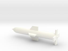1/72 Scale GBU-57 Massive Ordnance Penetrator in White Processed Versatile Plastic