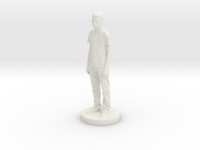 Printle C Kid 007 - 1/24 in White Natural Versatile Plastic