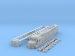 N Scale SDP40 in Frosted Ultra Detail