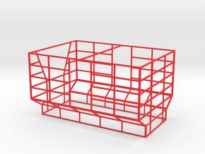 Ballenaufbau siku Anhänger in Red Processed Versatile Plastic