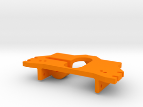 Sauter Kat 3 5 Anbauplatte in Orange Processed Versatile Plastic