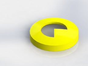 Pacman Ear Bud Cover for GLASS in White Strong & Flexible
