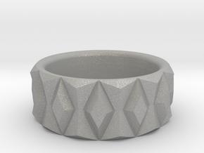Diamond Ring V2 - Curved in Aluminum