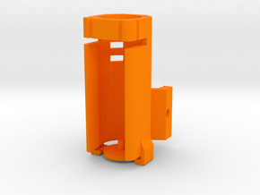 Helio M727-A (Full Length) in Orange Processed Versatile Plastic