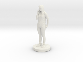 Printle C Femme 049 - 1/24 in White Strong & Flexible